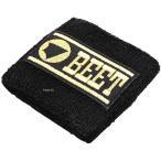 【メーカー在庫あり】 0708-RTB-04 ビート BEET リストバンド 黒