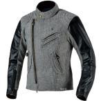 0SYEX-W3Z-W ホンダ純正 ツイードライダースジャケット 白 3Lサイズ