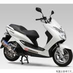 110-364-5181B ヨシムラ フルエキゾースト R-77S 機械曲サイクロン EXPORT SPEC 14年-18年 マジェスティS チタンブルー/カーボン JP店
