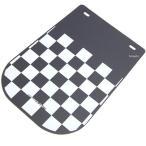 【メーカー在庫あり】 206-901 キジマ フェンダーフラップ チェッカーパターン ユニバーサル