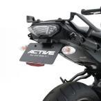 【メーカー在庫あり】 1153059 アクティブ ACTIVE フェンダーレスキット LEDナンバー灯 15年 MT-09 黒