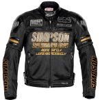 SJ-7116SP シンプソン SIMPSON 2017年春夏モデル メッシュジャケット ゴールド Mサイズ
