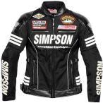 SJ-7115L シンプソン SIMPSON 2017年春夏モデル メッシュジャケット レディース 黒 WMサイズ