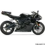 【USA在庫あり】 594126 005-1550419V-B ツーブラザーズレーシング スリップオンマフラー ブラックシリーズ M-5 06年-12年 デイトナ675 カーボン