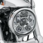【メーカー在庫あり】 67700144A ハーレー純正 5-3/4インチ LEDヘッドライト デーメーカー クローム