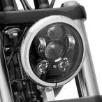 【メーカー在庫あり】 67700145A ハーレー純正 5-3/4インチ LEDヘッドライト デーメーカー ブラック