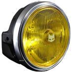 【メーカー在庫あり】 800-8003 マーシャル MARCHAL ヘッドライト 889 ドライビングランプ フルキット 180φ ホンダ車用 CB750F、CBX400F 黄/黒