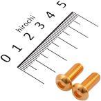 【メーカー在庫あり】 810820-015 ポッシュ POSH SUS304 六角穴付きボタンキャップボルト M6x15 P1.0 24Kクローム