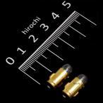 【メーカー在庫あり】 A7603 M&H マツシマ 口金シングル球 6V1.5W メーター/ポジション球 (クリアー) (2個入り)