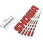 【USA在庫あり】 FX04-2673 ファクトリーFX FACTORY EFFEX ロゴステッカー SHOWA 140mm (5枚入り)
