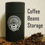 期間限定20%OFF ヒロコーヒーオリジナル コーヒー豆 保存容器 キャニスター 缶 ブラック