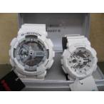 ショッピングShock ,G-SHOCK Baby-GホワイトアナログペアーGA-110C-7AJF BA-110-7A3JF\32,400