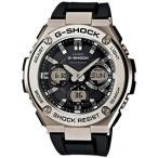 ショッピングShock G-SHOCK GスチールGST-W110-1AJF ソーラー電波腕時計