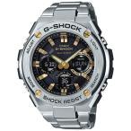 ショッピングShock G-SHOCK GスチールGST-W110D-1A9JF ソーラー電波腕時計