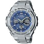 ショッピングShock G-SHOCK GスチールGST-W110D-2AJF ソーラー電波腕時計