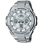 ショッピングShock G-SHOCK GスチールGST-W110D-7AJF ソーラー電波腕時計