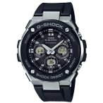 ショッピングShock G-SHOCK Gスチール GST-W300-1AJFソーラー電波腕時計 国内正規品