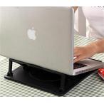 ノートパソコンスタンド 7段階 角度調節 360度回転 肩こり解消 放熱 ノート PC スタンド __