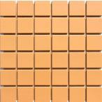 床・壁タイル スーパーカラー 45角 橙色 L-2