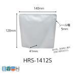 明和産商バリアー性・アルミ・レトルト用(130℃)広口スタンド袋HRS-1412S(140×120+41)2500枚