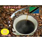 コーヒー豆、強い酸味、程よい苦味「キリマンジャロ」コーヒー大盛1.5kg福袋