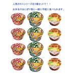 日清食品 ミニシリーズ3種×4食(12食入り) 送料無料