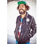 The Hundreds x Grateful Dead ジージャン デニム ジャケット ハンドレッズ グレイトフルデッド Pig Pen's Jacket Mサイズ Black スケボー SKATE SK8 スケート