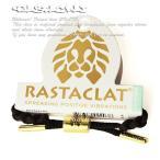 RASTACLAT ブレスレット シューレース アクセサリー ラスタクラット Mini Onyx II Bracelet Black×Gold スケボー SKATE SK8 スケートボード PUNK パンク レゲエ