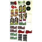 Blind Skateboards ステッカー シール 25枚ワンセット ブラインド Blind UV Girls 25 Sticker Pack スケボー SKATE SK8 スケート HARD CORE PUNK ハードコア