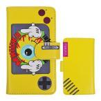 MISHKA スマホケース 手帳型 iPhone(6/6S/7)ミシカ SMILY KEEP WATCH SMART PHONE CASE Yellow スケボー SKATE SK8 スケート HIPHOP ヒップホップ SURF サーフ