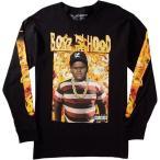 LRG × BOYZ N THE HOOD ロンT 長袖 ロングTシャツ Doughboy LS Tee Black  HIPHOP ヒップホップ 映画 コラボ 90年代 ボーイズ'ン・ザ・フッド 90's HIPHOP