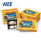 タイ お土産 エレファント マカデミアナッツ クッキーミニ 6箱セット  おみやげ ギフト HIS ID:95320072