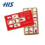 スイス お土産 ザ スイス  ミルクチョコバッグ 6箱セット  おみやげ ギフト HIS ID:95280294