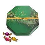 GODIVA ゴディバ Holiday G Cube Truffle Tin 50pc クリスマス Gキューブ トリュフ 八角形缶 チョコレート 取り寄せ商品