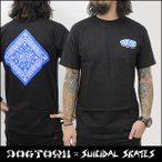 SUICIDAL TENDENCIES×DOGTOWN DTXST T-SHIRT 4 BANDANA (BLK) Tシャツ