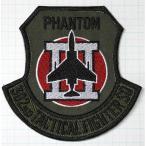 航空自衛隊グッズ  百里基地 302飛行隊 F−4 PHANTOMIIワッペン・パッチ