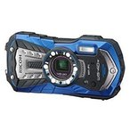 RICOH 防水デジタルカメラ WG WG-40W BLUE