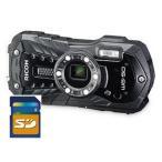 リコー タフネスカメラ WG-50 ブラック 1台