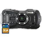 リコー タフネスカメラ WG-60 BK ブラック 1台