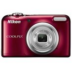 Yahoo!hit-market【送料無料】Nicon・ニコン らくらくオート撮影搭載・単三電池対応 COOLPIX A10 レッド[COOLPIX L32の後継機]