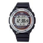 デジタルで見やすい電波時計おすすめ! 【送料無料】シチズン時計 Q&Q シチズン電波ソーラー時計 MHS7-300