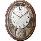 スモールワールドプラウドDX リズム時計 掛時計 4MN524RH23 スモルワルドプラウドDX