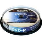 [条件付き送料無料] [RiTEK] ライテック製  /  RiDATA  /  録画用DVD-R  /  10枚パック[D-RCP16X.PW10RD D]