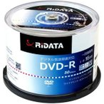 [条件付き送料無料] [RiTEK] ライテック製  /  RiDATA  /  録画用DVD-R  /  50枚パック[D-RCP16X.PW50RD D]