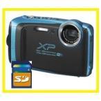 FUJIFILM 防水カメラ XP130 スカイブルー FX-XP130SB