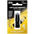 SUPER TALENT・スーパータレント USB 2.0フラッシュメモリ4GB STU4RMP