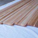 ひた廊|柾目無節杉板-燻煙乾燥木材