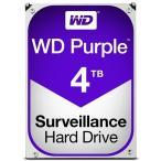 ショッピングウエスタン WD Purpleシリーズ 3.5インチ内蔵HDD 4TB SATA6Gb/s Intellipower 64MBキャッシュ AF対応 WD40PURZ