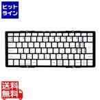 MOBO Keyboard 日本語配列 折りたたみ式 Bluetoothキーボード ブラック AM-KTF83J-GB