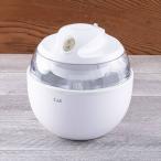 アイスクリームメーカー ホワイト | キッチン 貝印 アイスクリーム 簡単 正規品 kai レシピ付き 手作りアイス  DL-5929